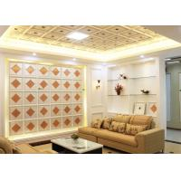 Wholesale Interior Decorative Ceiling Panels Artistic for Living Room , SGS Test from china suppliers