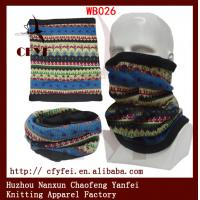 Wholesale OEM serice outdoor winter scarves fleece face mask ski hat cheap winter from china suppliers