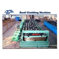 Wholesale Universal Joint 0-30m/min G550MPA PPGI Roof Panel Roll Forming Machine from china suppliers