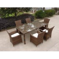 Outdoor Wicker Yard Garden Pool Patio Furniture Pe Rattan Resin Dining Set Of Item 101342611