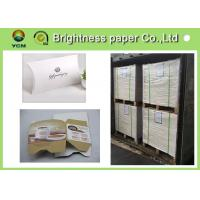 Wholesale Mixed Pulp Material White Cardboard Sheets For Cosmetics Packing 700 * 1000mm from china suppliers