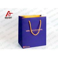 Wholesale Inside & Outside Custom Printed Personalised Paper Carrier Bags Business Promotional Use from china suppliers