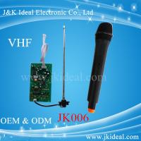 Wholesale JK006 VHF wireless microphone module in wireles microphone system from china suppliers