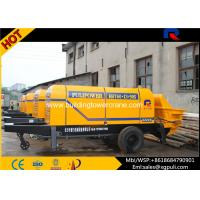 Wholesale 13 Mpa Outlet Pressure Electric Concrete Pump Filling Height 1400mm from china suppliers