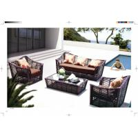 Wholesale new product five star rattan sofa conservatory Furniture resin Wicker Luxury sofa from china suppliers