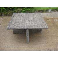Wholesale CA1017 wicker dining set with nesting ottoman outdoor artificial rattan furniture from china suppliers