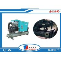 Wholesale 70HP R410A Screw Water Cooled Chiller Durable High Precision 220V - 440V 3 Phase from china suppliers