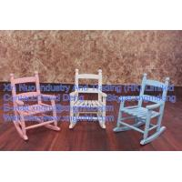 Wholesale children's rocking chairs, wooden rocking chairs, white rocking chairs, baby rocking chair from china suppliers