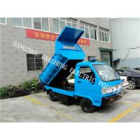 Wholesale 2 Tons Long Lifetime Electric Flatbed Delivery Truck With Hydralic Lifting Dump from china suppliers