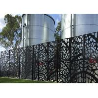 Wholesale powder coated  decorative laser cut  metal screen     perforated metal from china suppliers