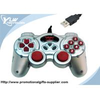 Wholesale Dual shock silver / black USB  Game Controllers gamepad with 12 fire buttons from china suppliers