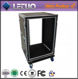 Wholesale LT-FC177 aluminum ata road flight case 16u shock mount flight case rack transport case from china suppliers