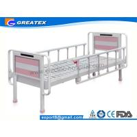 Wholesale Heavy Load Nursing Medicare hospital beds with rails , Bedside cabinet and Mattress from china suppliers