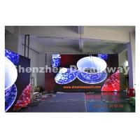 Wholesale Clear video big led screen hire / indoor led display rental 576 by 576 mm Cabinet from china suppliers