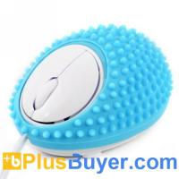 Wholesale Hedgehog Style Wired USB Optical Massage Mouse from china suppliers