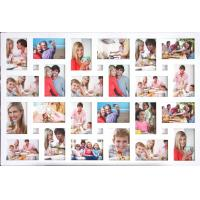 Wholesale wholesale large wood photo frame white photo frame multi picture photo frame home decor from china suppliers