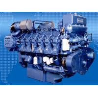 Quality High Speed Bedouin 600 KW Marine Diesel Generator With Woodward Electricity Governor for sale