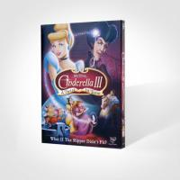 Quality wholesale Cinderella III: A Twist in time disney dvd movies with slip cover case for sale