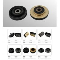 Quality R60-5 Hyundai Excavator Rubber Engine Cushion , Excavator Spare Parts Engine Mounts for sale