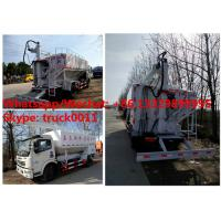 Buy cheap Wholesale good price DONGFENG 12CBM hydraulic discharging bulk feed delivery truck, 5-6tons animal feed pellet vehicle from wholesalers
