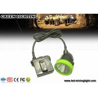 Wholesale 50000 Lux Opal Corded LED Mining Light Safety Hunting Miners Cap Lamp 11.2Ah Battery from china suppliers