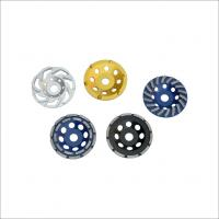 Wholesale ISO 9001 4 Inch Wheel Cup Diamond Grinding Disc With Heat / Wear Resistance from china suppliers