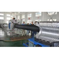 China SBG-500 Double Wall Corrugated Pipe Machine , HDPE Double Wall Pipe Production Line on sale