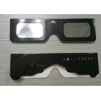 Wholesale Eclipse Glasses for Watching Sun Spot - Safe Solar Cardboard Eclipse Shades from china suppliers