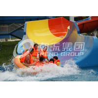 Wholesale Customized Super Tornado Fiberglass Water Slides 14.6m Platform Height for Themed Water Park from china suppliers