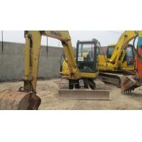 Wholesale Used Komatsu Excavator PC56-7 in good condition from china suppliers