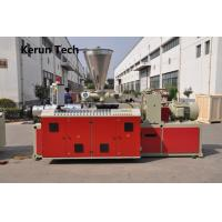 Buy cheap High Speed WPC Sheet Making Machinery / Wood plastic Extrusion Line from wholesalers