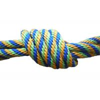 Wholesale Multicolor Braided nylon / Polypropylene Non Elastic Tape Rope spandex fabric pulley from china suppliers