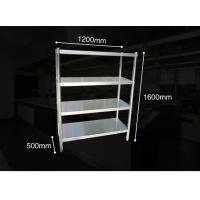 Wholesale Anti - Rust Steel Storage Shelves , Kitchen Ladder Type Warehouse Storage Rack With Adjustable Legs from china suppliers