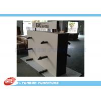 Wholesale Market Metal Hanger Wooden Display Racks Customized For Carpet Present from china suppliers