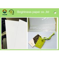 Wholesale Customized Size C2s Craft Cardboard Sheets / Reel Smoothy Surface from china suppliers