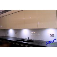 Quality 3mm To 8mm Heat Resistant Kitchen Glass , white back painted glass for sale