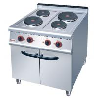 Buy cheap JUSTA Electric 4-Plate Range Burner Cooking Range With Cabinet Western from wholesalers