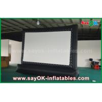 Wholesale 5 X 3m Oxford Cloth Outdoor Inflatable Billboard Movie Screen from china suppliers