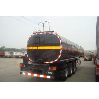 Wholesale CIMC trailer fuel tank semi trailers in good quality with air suspension from china suppliers