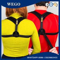 Wholesale WG-HR002 Posture Corrector For Women Adjustable Figure 8 Clavicle Support Upper Back Brace from china suppliers