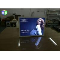 Quality Snap Aluminum Slim Outdoor Led Light Box Sign For Advertising , Eco Friendly for sale