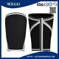 Wholesale BLAC Knee Sleeves Compression WrapWeightlifting Powerlifting Weight Lifting 7mm Knee Wraps from china suppliers