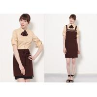 Wholesale Coffee Shop Fine Dining Restaurant Staff Clothing Unisex With High - End Suit from china suppliers