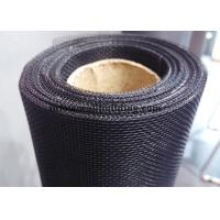 Wholesale Black / Gray 18x16 Fiberglass Window Screen Roll Fiberglass Mosquito Net from china suppliers