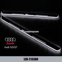 Wholesale Audi Q3 Q7 car accessories upgrade new led door moving scuff plate lights from china suppliers