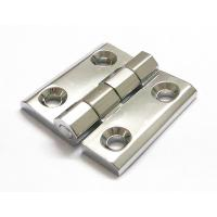 Wholesale Cabinet Door Hinge 40*40 50*50 60*60 Bright Chrome Zinc Alloy Electric cabinet panel hinge from china suppliers