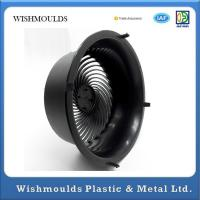 Wholesale Rapid Injection Molding Black Household Products Electric Fan Cover Plastic Parts from china suppliers