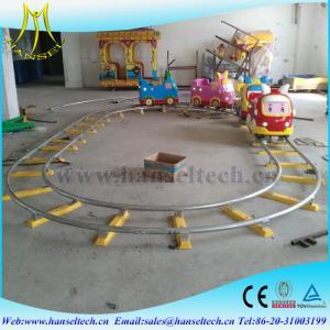 Quality Hansel amusement park rides mini electric train indoor amusement park train for sale