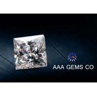 Wholesale Colorless Square Moissanite Diamonds Forever Brilliance Grade from china suppliers