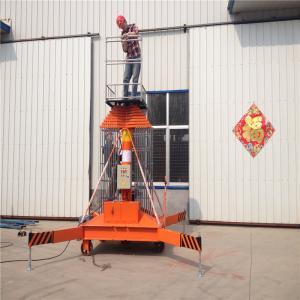 Quality Walking 15m Height Hydraulic Work Platform Crank Arm Aerial Lift Platform GTTY - 15A for sale